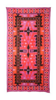 Theodora & Callum Yucatan Scarf // This would kinda make a cute rug.