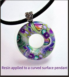 How to Apply Resin tutorial will guide you step by step, how-to apply a domed resin coating to 3 types of Pendants, it includes 35 pages of easy to understand instructions, and 61 color images, Tip Section, Gallery photos of completed projects. Most of the photos are close-ups, so you can see exactly how I do each step. Great tutorial for first time resin users, or those who are reluctant to try resin.  This tutorial illustrates how to apply a 2-part resin coating to the top surface of 3…