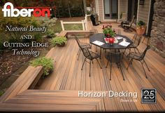 Composite Decking has come a long way...checkout some of the new colors and the fade and stain warranties!