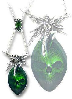 Alchemy Gothic // Absinthe Fairy Pendant Necklace