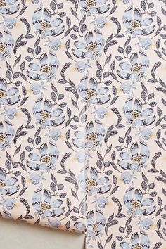 Anthropologie Magnolia Blossoms Wallpaper