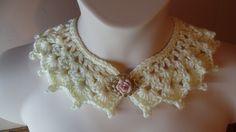 #Crochet Victorian Style Collar Necklace #TUTORIAL