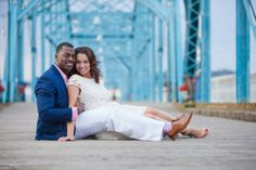 Bluff View engagement photo in Chattanooga, TN