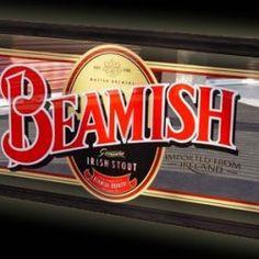 Beamish Irish Stout Mirror English Beer, Beer Logos, Irish Drinks, British Beer, Ipa, Brewery, Ireland, Branding, Mirror