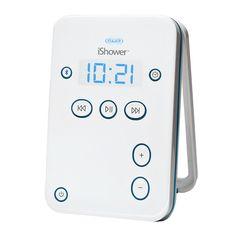 iShower - водостойкая Bluetooth колонка, который играет музыку с ваших мобильных устройств.