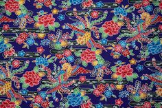 Japanese Cotton, Japanese Kimono, Vintage Japanese, Kimono Fabric, Tone It Up, Cool Fabric, Okinawa, Vintage Fabrics, Sewing Clothes