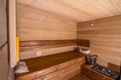 Soukromá rodinná sauna v Brně - Sauna. Stairs, Home Decor, Stairway, Decoration Home, Room Decor, Staircases, Home Interior Design, Ladders, Home Decoration