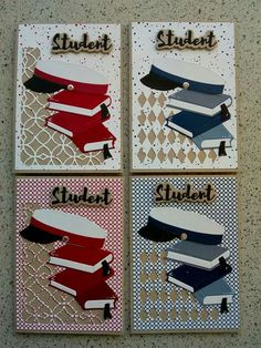 Atc Cards, Cardmaking, Projects To Try, Playing Cards, Student, Inspiration, Graduation, Making Cards, Biblical Inspiration