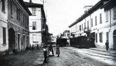 via Fagnani, inizi del '900    Sedriano
