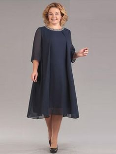 Plus Size Chiffon Mother of the Bride Dress Scoop Neck Wedding Guest Party Gowns , dresses for black women brides plus size Mother Of Groom Dresses, Mothers Dresses, Mother Of The Bride Dresses Plus Size, Vestidos Plus Size, Plus Size Dresses, Mom Dress, Two Piece Dress, Elegant Dresses, Chiffon Dress