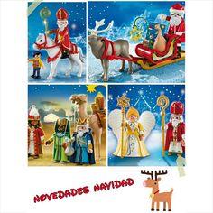Novedades navideñas! La semana que viene estarán disponibles en la web! #navidad #playmobillovers #playmobil #playmobilfigures #cliks #playmyplanet #papanoel #reyesmagos #angel #sannicolas #playmobilespaña