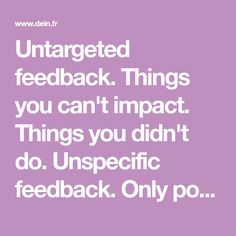 Things you can't impact. Things you didn't do. Only positives. The feedback sandwich. Negative Feedback, Positivity, Canning, Conservation, Optimism