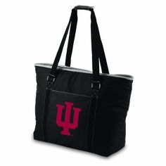 NCAA Indiana Hoosiers Tahoe Extra Large Insulated Cooler Tote by Picnic Time. $39.95. Zippered exterior pocket for extra storage. Extra long shoulder straps with fastening closure. Generous interior storage capacity. Picnic Time Tahoe team logoed cooler tote/beach bag. Fully-insulated with heat-sealed water-resistant interior liner. Show your team spirit with this Picnic Time Tahoe team logoed tote, offering a versatile design that will cover you for a myriad of ta...