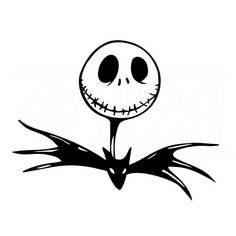 Image result for jack skellington silhouette