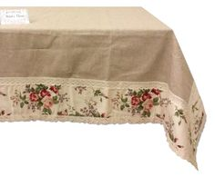 Provencal tablecloths, table runners and country cushions in Shabby Chic style - Shabby Chic Mode, Style Shabby Chic, Shaby Chic, Mesas Shabby Chic, Shabby Chic Lamps, Shabby Chic Tablecloth, Marcos Shabby Chic, Shabby Chic Kitchen Shelves, Country Cushions