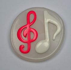 Music  Notes -  silicone mold - wax, resin, clay, fimo,  sugarcraft on Etsy, $7.99