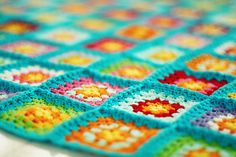 Beautiful Granny Blanket ...