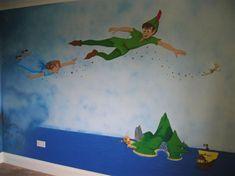 I Like The Stars/sparkle Trail Idea For Peter Panu0027s Silhouette. Part 83
