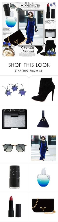 """YesStyle Polyvore Group "" Show us your YesStyle"" by vanjazivadinovic ❤ liked on Polyvore featuring NARS Cosmetics, Ray-Ban, Prada and Chanel"