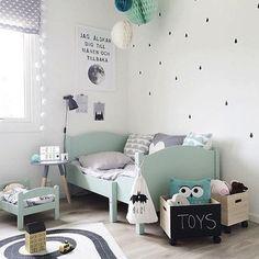 Interieur ikea and kind on pinterest - Pastel slaapkamer kind ...