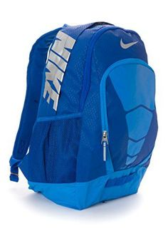 Nike Max Air Vapor Backpack Lite Game Royal/Photo Blue/Silver BA4883-402 - Click image twice for more info - See a larger selection of blue backpacks at http://kidsbackpackstore.com/product-category/red-backpacks/. - kids, juniors, back to school, kids fashion ideas, teens fashion ideas, school supplies, backpack, bag , teenagers girls , gift ideas, blue - clothing, comfy, punk, casual, school, travel clothes *ad