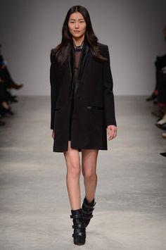 the coat and the kicks! #isabelmarant #PFW    http://www.treschicnow.com/fashion/fashion-finds/2013/03/isabel-marant-pfw-fall-2013.html#