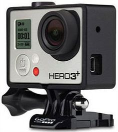 *precludes use of waterproof casing*  GoPro The Frame Mount The smallest, lightest way to mount your GoPro Hero3 or Hero3+ $55 jbhifi