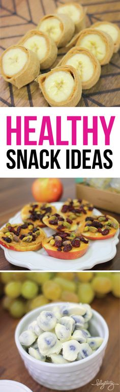 SO GOOD and SO GOOD FOR YOU! 5 Healthy snacks ideas. Mostly vegan.