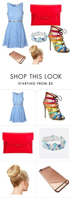 """""""Untitled #3"""" by brezzy502 ❤ liked on Polyvore featuring Glamorous, Salvatore Ferragamo, Givenchy and Avenue"""