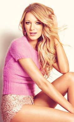 Blake Lively ♥ I cant accept how someone can be this gorgeous and have ryan reyenolds and has a beautiful life its just not right
