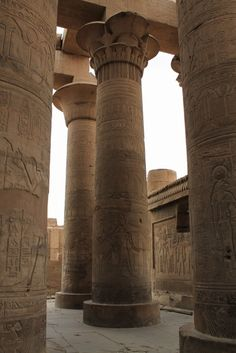 Templo de  Kom Ombo em Aswan / Kom Ombo Temple in Aswan