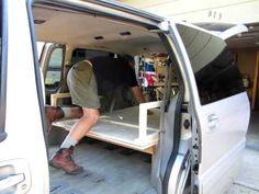Minivan Camper - YouTube