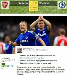 Resolute #BLUES hold the #Gunners