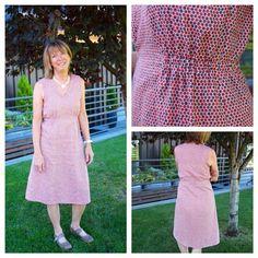 Becky made the 107 Mississippi Av enue Dress from Sew House Seven
