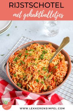 ml) 400 gr tomatenblokjes Lamb Recipes, Dinner Recipes, Healthy Recipes, Quick Recipes, Couscous, Good Food, Yummy Food, How To Cook Rice, Happy Foods