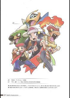 platinum diamond pearl pokespe Pokemon W, Pokemon Manga, Pokemon Adventures Manga, Pokemon Special, Keys Art, Pop Culture, Anime Art, Childhood, Diamond