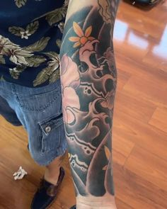 Koi - inktattoo tattoo tattoos You are in the right place about Koi - Tiger Tattoo Sleeve, Skull Sleeve Tattoos, Tattoo Sleeve Designs, Arm Tattoo, Tebori Tattoo, Irezumi Tattoos, Japanese Tattoo Art, Japanese Sleeve Tattoos, Remember Tattoo