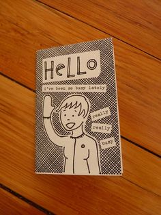 Mini zine Things I Should Be Doing by thimblewinder on Etsy, $1.00