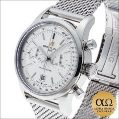 Breitling Transocean chronograph 38 Ref.A41310 stainless steel by 2015,