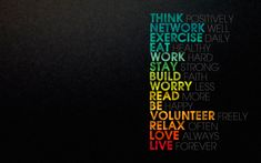 love dark colorful typography inspirational motivational posters motivation Success word  / 2560x1600 Wallpaper