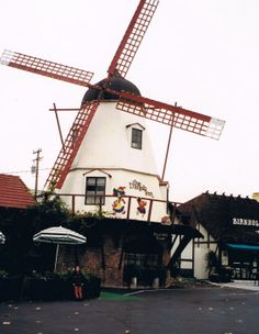 Windmill in Solvang.