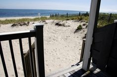 """Red Jacket Riviera Beach Resort on Cape Cod. When we say """"steps to the beach"""" we mean, about 3 steps... Unless you like to skip, then 1.5. http://www.redjacketresorts.com/riviera-beach-resort.php"""