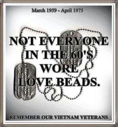 Not everyone in the 60's wore love beads. v@e