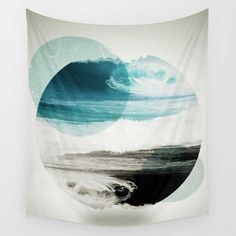 Tapestry - Sea and Sky  - boho tapestries for living rooms, dorm rooms, and any wall that needs some life. shop discounted tapestries and home decor at mysoulmonkey.com | boho tapestry bedroom ideas | mandala tapestry wall hangings | tapestry dorm | tapestry bedroom #shoptapestry