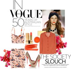"""Love Tangerine"" by hayanienu ❤ liked on Polyvore"