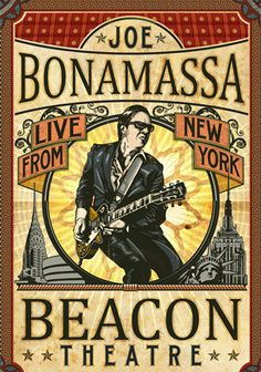 Joe Bonamassa - Beacon Theatre, New York.