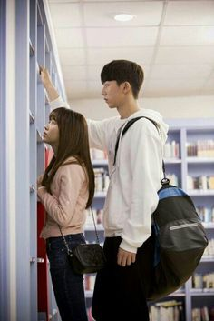 Find images and videos about kdrama, nam joo hyuk and kim so hyun on We Heart It - the app to get lost in what you love. Korean Drama Movies, Korean Actors, My Shy Boss, Kdrama, Live Action, Who Are You School 2015, Jong Hyuk, Nam Joohyuk, Kim Sohyun