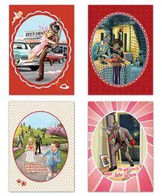 Des cartes zombies pour la St Valentin