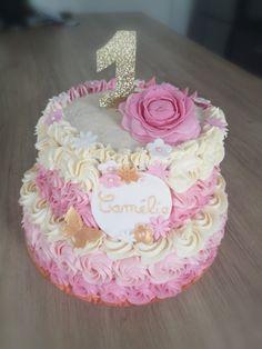 #rosecake #birthdaycake Rose Cake, Birthday Cake, Desserts, Food, Sugar Paste, Cake Ideas, Tailgate Desserts, Birthday Cakes, Deserts