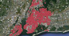 Disturbing new map shows 2748 locations where NYC has recently sprayed cancer-causing pesticide